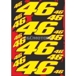 46-os matricaszett, A4-es