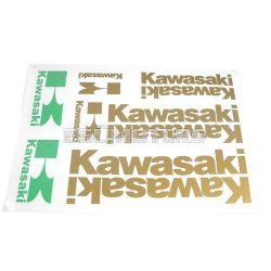 Kawasaki matrica szett arany, B4