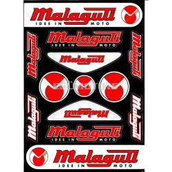 Malaguti matricaszett, A4-es