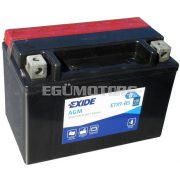 Exide zselés akkumulátor YTX9-BS, ETX9-BS