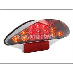 STR8 Black-line LED-es hátsólámpa irányjelzővel Aerox / Nitro