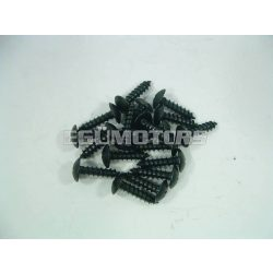 Motoforce idomcsavar, 4.8x16, fekete