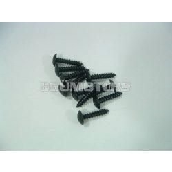 Motoforce idomcsavar, 4x20, fekete